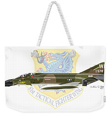 F-4d Phantom II Raf Bentwaters Weekender Tote Bag