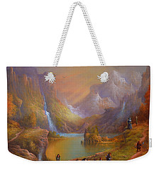The Fellowship Breaking Camp Weekender Tote Bag by Joe Gilronan