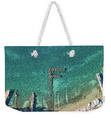 F Marks The Spot Weekender Tote Bag