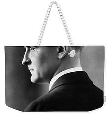 F. Scott Fitzgerald Circa 1925 Weekender Tote Bag