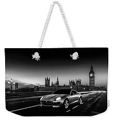F-type In London Weekender Tote Bag by Mark Rogan