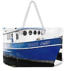 F V Miss Ann Weekender Tote Bag