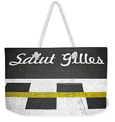 F1 Circuit Gilles Villeneuve - Montreal Weekender Tote Bag