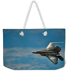 F22 Raptor Steals The Show Weekender Tote Bag by Dan McManus