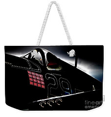 F4u Corsair Six Fifties Sixteen Kills Dark Weekender Tote Bag