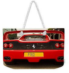 F50 Tail Weekender Tote Bag