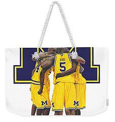 Fab Five Weekender Tote Bag