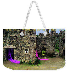 Weekender Tote Bag featuring the photograph Fabbriche Di Vagli Paese Fantasma Ghost Town 2 by Enrico Pelos