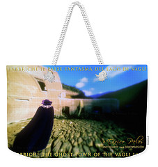 Weekender Tote Bag featuring the photograph Fabbriche Di Vagli Paese Fantasma Ghost Town 3 by Enrico Pelos