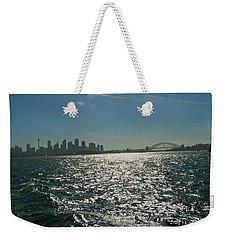 Fabulous Sydney Harbour Weekender Tote Bag by Leanne Seymour