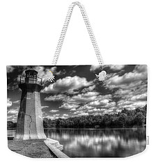 Fabyan Lighthouse On The Fox River Weekender Tote Bag