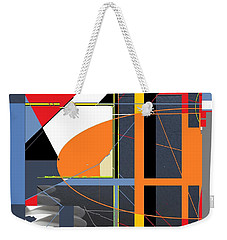 Facade Weekender Tote Bag by Andrew Drozdowicz