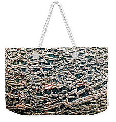 Weekender Tote Bag featuring the photograph Facade by Danielle R T Haney