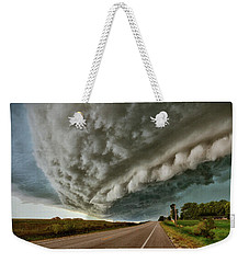 Face In The Storm Weekender Tote Bag