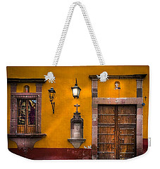 Face In The Window Weekender Tote Bag