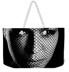 Face Lacemasked #4719 Weekender Tote Bag