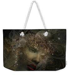 Face Of Space Weekender Tote Bag