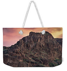 Face Of Superstitions 2 Weekender Tote Bag
