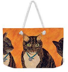 Face-off Weekender Tote Bag