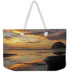 Face Rock Beauty Weekender Tote Bag