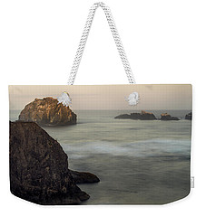 Face Rock Sunrise Weekender Tote Bag