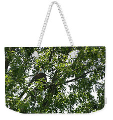 Face The Eagle Weekender Tote Bag by Donald C Morgan