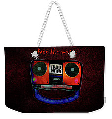 Face The Music Weekender Tote Bag