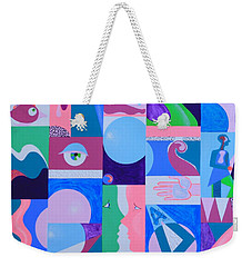 Face-to-face  Weekender Tote Bag