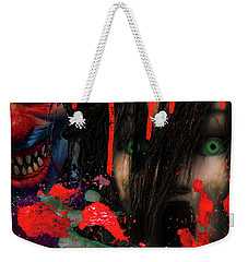 Face Your Fears Weekender Tote Bag