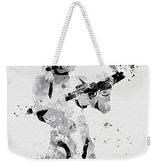 Faceless Enforcer Weekender Tote Bag by Rebecca Jenkins