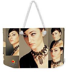 Faces Weekender Tote Bag by Afrodita Ellerman