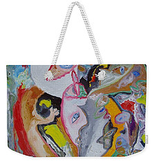 Faces. When The Reality Is Transformed... Weekender Tote Bag