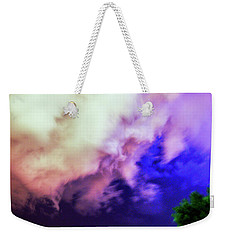 Faces In The Clouds 002 Weekender Tote Bag