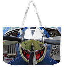 Weekender Tote Bag featuring the photograph Faces Of Oshkosh 2012. #03 by Ausra Huntington nee Paulauskaite
