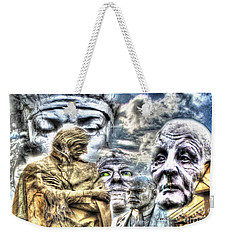 Faces Of The Great Weekender Tote Bag