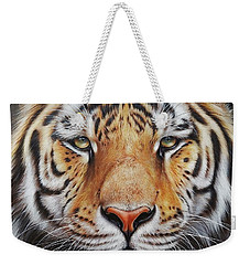Faces Of The Wild - Amur Tiger Weekender Tote Bag