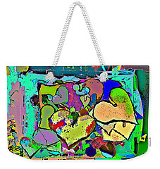 Facilitated To The Color That Is Love Weekender Tote Bag