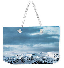 Facing Eyafjallajokull Weekender Tote Bag