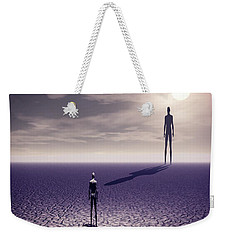 Facing The Future Weekender Tote Bag by John Alexander