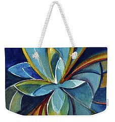 Fractal Flower Weekender Tote Bag