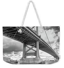 Fade To Bridge Weekender Tote Bag