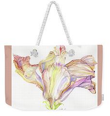 Faded Hibiscus Weekender Tote Bag