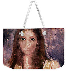 Weekender Tote Bag featuring the photograph Faded Memories by Claire Bull