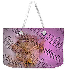 Faded Music Weekender Tote Bag