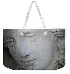 Faded Statue Weekender Tote Bag