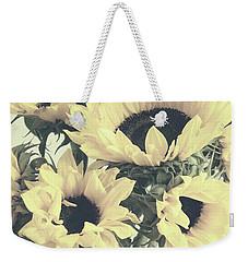 Faded Sunflowers Weekender Tote Bag