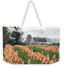 Faded Tulip Barn Weekender Tote Bag