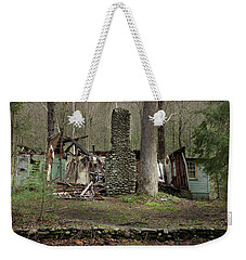 Weekender Tote Bag featuring the photograph Fading Into Tomorrow by Mike Eingle