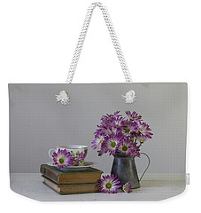 Weekender Tote Bag featuring the photograph Fading Memories by Kim Hojnacki