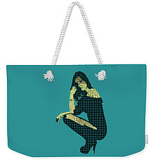 Fading Memories - The Golden Days No.2 Weekender Tote Bag by Serge Averbukh